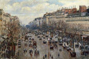 Boulevard Monmartre a Paris