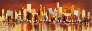 Manhattan al tramonto