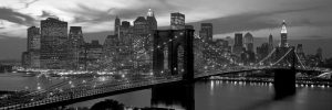 Brooklyn Bridge and Skyline