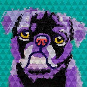 Geometric Pug