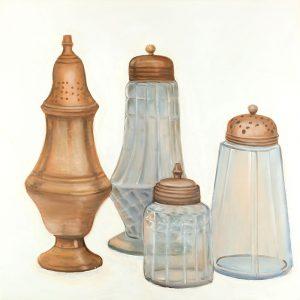 Antique Salt and Pepper Shaker