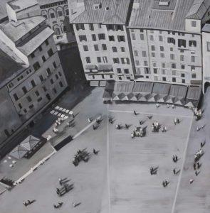 Piazza Del Campo in Italie