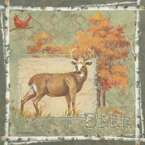 Deer on Green