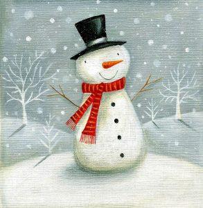 Christmas Snowman II