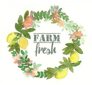 Farm Fresh Wreath