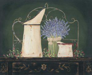 Floral with Lavendar