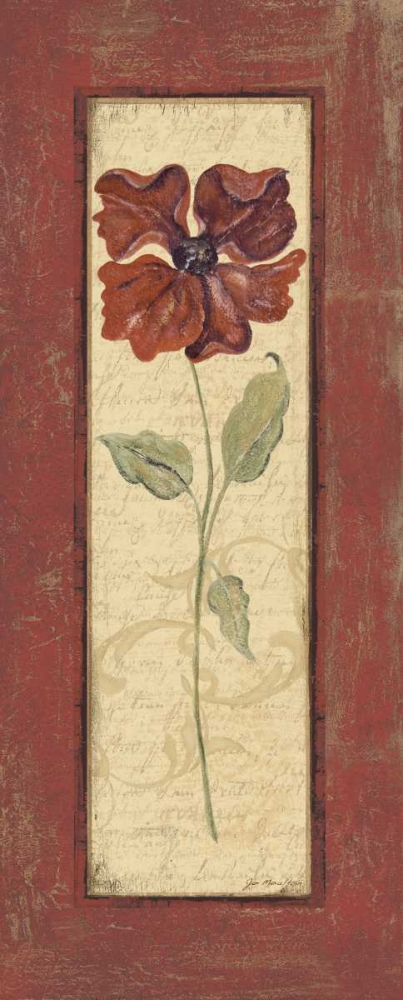 Crimson Petals II