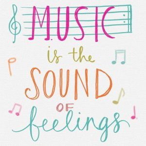 Music is the Sound of Feelings