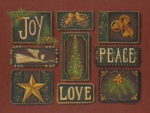 Joy Peace Love