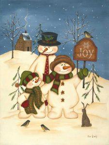 Snowman Family Joy