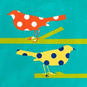 Orange and Yellow Bird