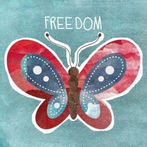 Boho Butterfly Freedom