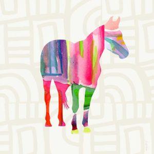 Colorful Horse II