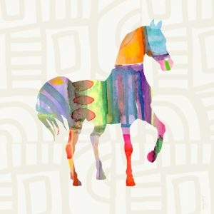 Colorful Horse III