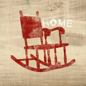 Home Red Chair