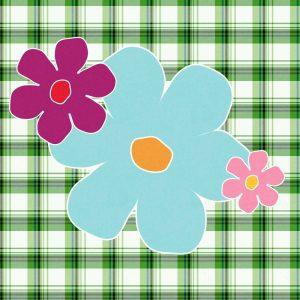 Plaid Floral