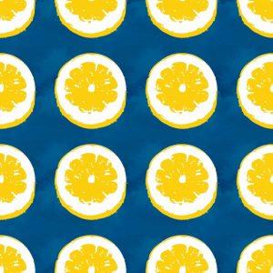 Lemons on Blue II