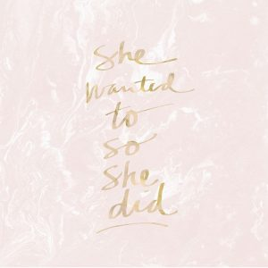 She Wanted To – Blush Marble