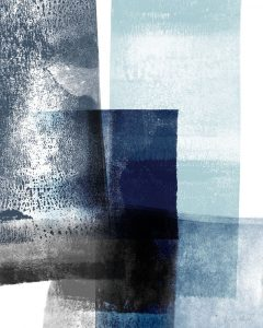 Blue Abstract IV