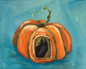 Pumpkin and Crow
