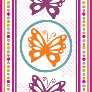 Butterflies and Blooms Lively IX