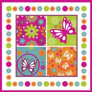 Butterflies and Blooms Lively X