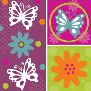 Butterflies and Blooms Lively XI