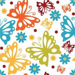 Butterflies and Blooms Playful II