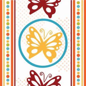 Butterflies and Blooms Playful IX