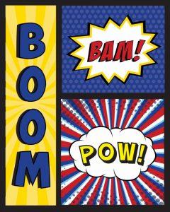 Boom! Bam! Pow!