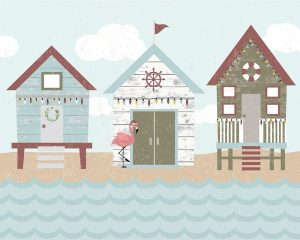 Coastal Christmas Pattern II