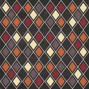Autumn Harvest Diamond Pattern
