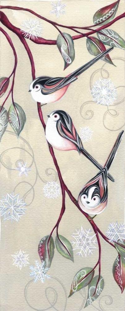 Branch Birds I