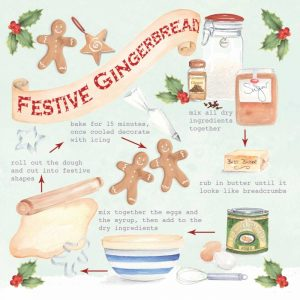 Festive Gingerbread Christmas