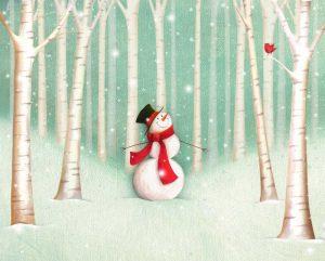 Holiday Joys Snowman