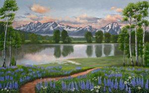 Lupine Trail Tetons