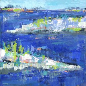 Blue Series Peaceful