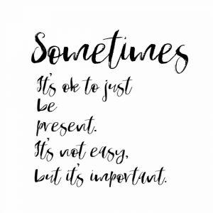 Sometimes Present