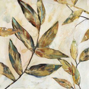 Gilded Leaves I