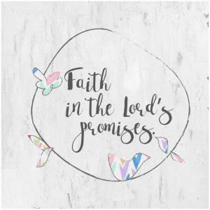 Faith in Gods Promises