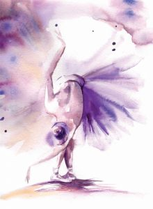 Purple Ballerina II