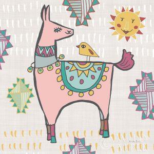 Playful Llamas III