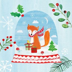 Snow Globe Animals III