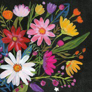 Vintage Floral III Flipped