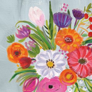 Vintage Floral IV Flipped