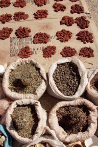 Namibia, Opuwo Fragrant herbs and ochre