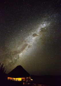 Africa, Namibia Milky Way and night sky